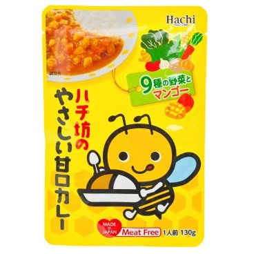 HACHI - Sweet Curry For Baby - 130G