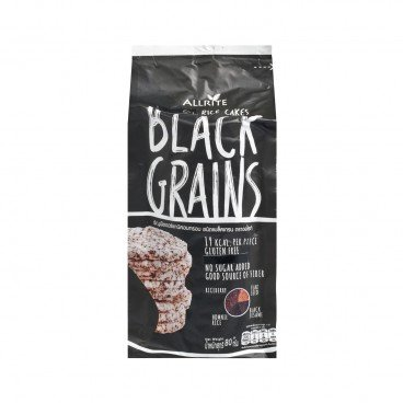 GRAIN RICE CAKES-ORGANIC BLACK