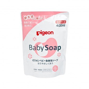 PIGEON - Baby Soap Refill floral - 400ML
