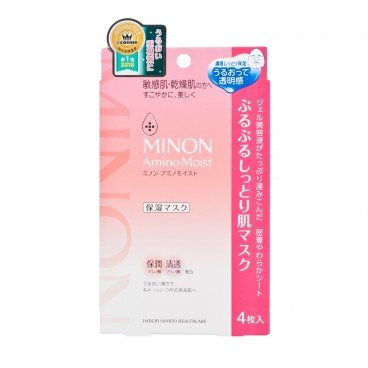 MINON - Amino Moist Essential Mask - 4'S