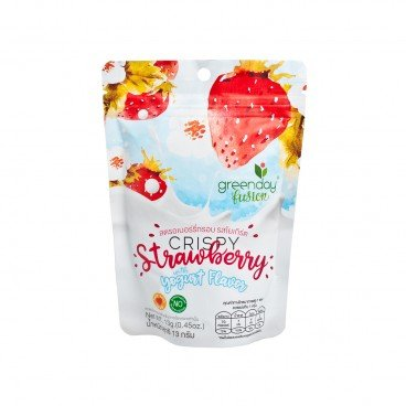 CRISPY STRAWBERRY-YOGURT FLAVOR