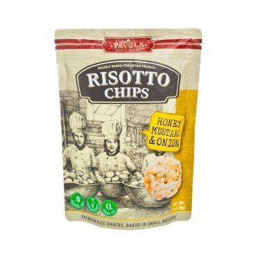 TAVOLA - Risotto Chips honey Mustard And Onion - 84G