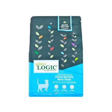 NATURE'S LOGIC Feline Sardine Meal Feast 1.5KG