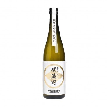 MUSASHINO Junmai Daiginjo Black 720ML