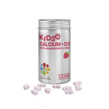 LIFE NUTRITION Kids Calcium d 3 120'S