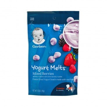 GERBER(PARALLEL IMPORT) - Graduates Yogurt Melts mixed Berries - 28G