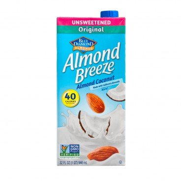 BLUE DIAMOND Almond Breeze Unsweetened coconut 946ML