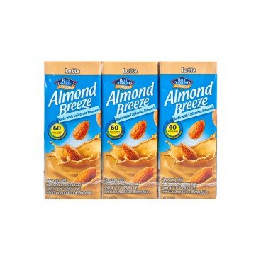 BLUE DIAMOND Almond Breeze latte 180MLX3