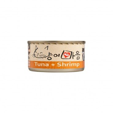 CAT'S HEART Canned Food tuna Shrimp 80G