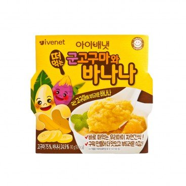 IVENET - Bebe Roasted Sweet Potato Banana - 90G