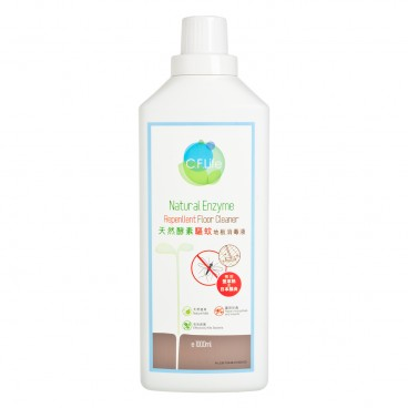 CF LIFE BY CHOI FUNG HONG - Natural Enzyme Repellent Floor Cleaner - 1L