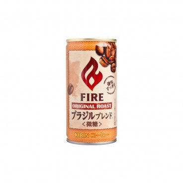 FIRE ROASTED BRAZAIL COFFEE BEANS SLIGHTLY SWEET COFFEE