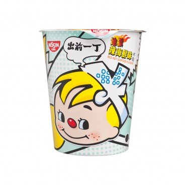 DE-MA-E Cup Noodle red Hot Seafood 75G
