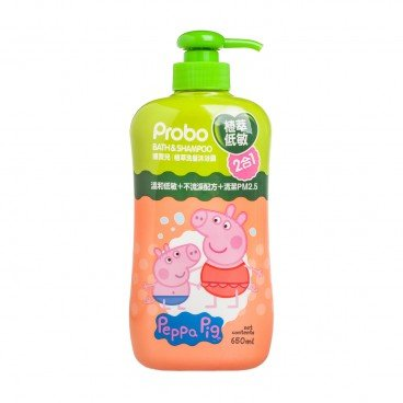 PROBO - Peppa Pig Bath Shampoo 2 In 1 - 650ML