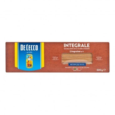 DE CECCO Whole Wheat Linguine 500G