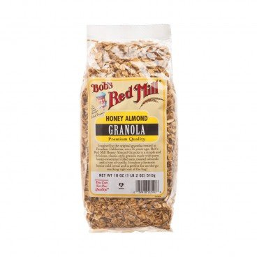 BOB'S RED MILL Honey Almond Granola 510G