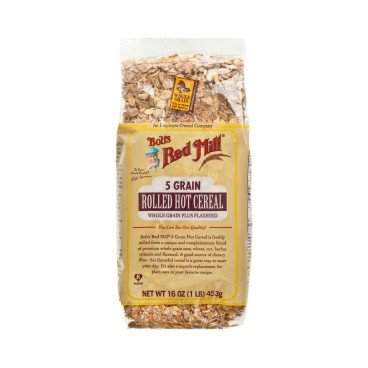 BOB'S RED MILL 5 Grain Rolled Cereal 453G
