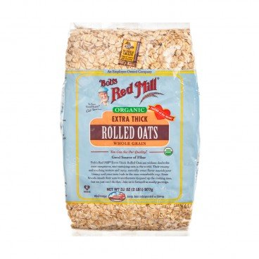 BOB'S RED MILL - Organic Oats Rolled Thick - 907G