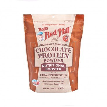 BOB'S RED MILL Chocolate Protein Powder Nutritional Booster 16 oz X 4 453G