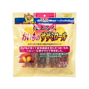 DOGGYMAN Premium Sweet Potato Meat Strips 39'S