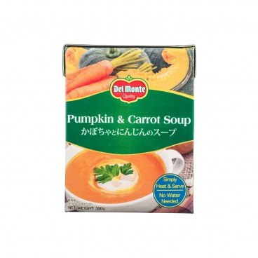 PUMPKIN & CARROT SOUP