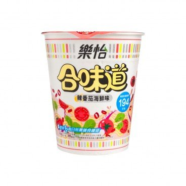 NISSIN - Cup Noodle Light spicy Tomato Seafood Flavor - 68G