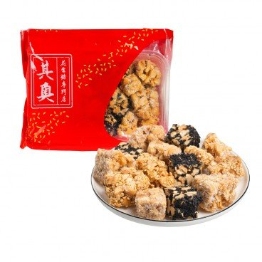 YUEN LONG KEI O - Mixed Peanuts Brittle - 16OZ