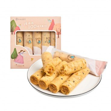 BLUE BIRD TRAVEL Sesame Flossy Pork Egg Rolls 5'S