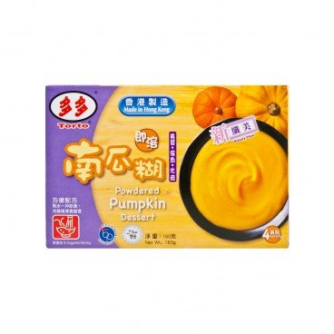 TORTO Pumpkin Powdered Dessert 160G