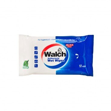 WALCH Wet Wipes 10'S