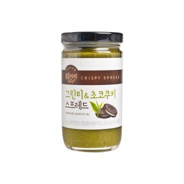 BOKUMJARI Green Tea Chocolate Cookie Spread 235G