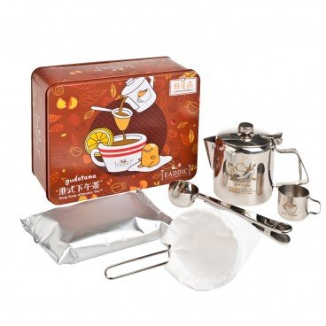 TEADDICT Small Pcarcel Diy Set hong Kong Afternoon Tea Gudetama SET