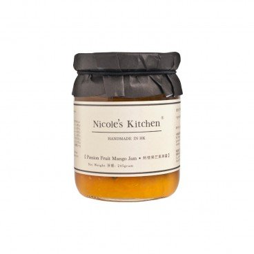 NICOLE'S KITCHEN Passion Fruit Mango Jam 245G