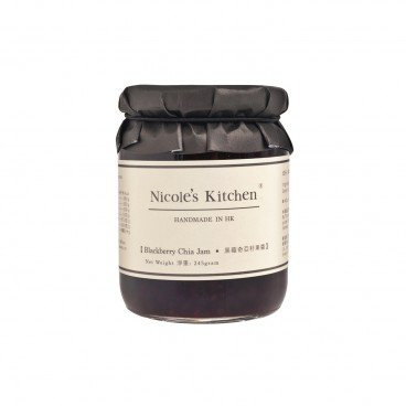 NICOLE'S KITCHEN Blackberry Chia Jam 245G