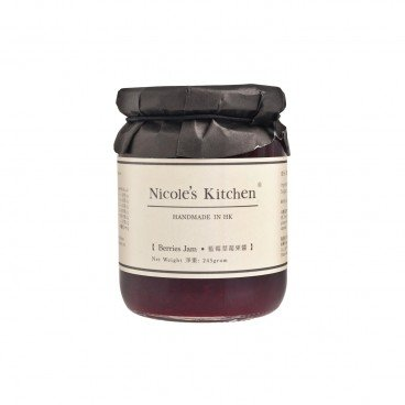 NICOLE'S KITCHEN Berries Jam 245G