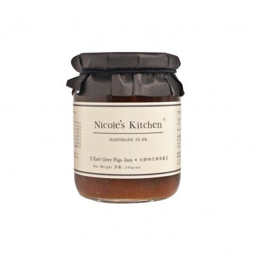 NICOLE'S KITCHEN Earl Grey Figs Jam 245G