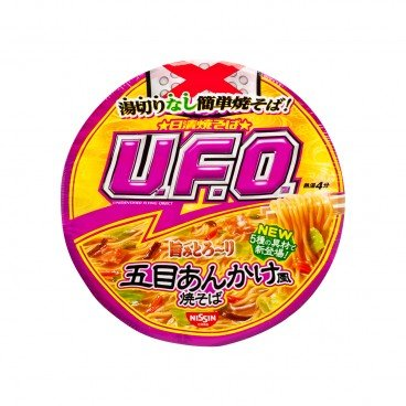 NISSIN Ufo Fried Noodle fried Vegetable Seafood Expiry Date 23 Jul 2019 114G