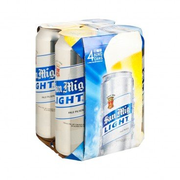 SAN MIGUEL - Light Pale Pilsen - 500MLX4