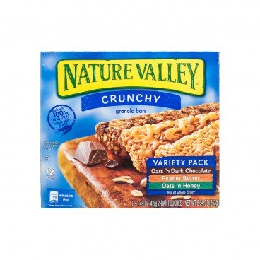 NATURE VALLEY - Crunchy Granola Bar variety Pack - 253G