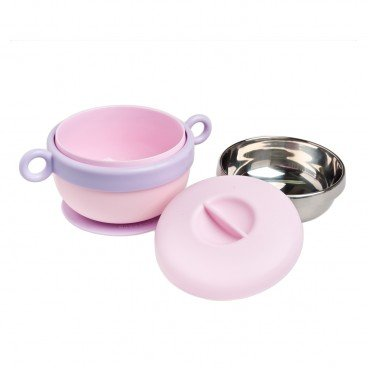 DODOPAPA Stainless Steel Baby Bowl lavender PC