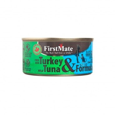 FIRSTMATE 50 50 Free Run Turkey Wild Tuna 156G