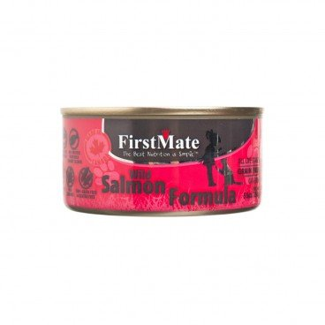 FIRSTMATE Grain Free Salmon Formula canned 156G