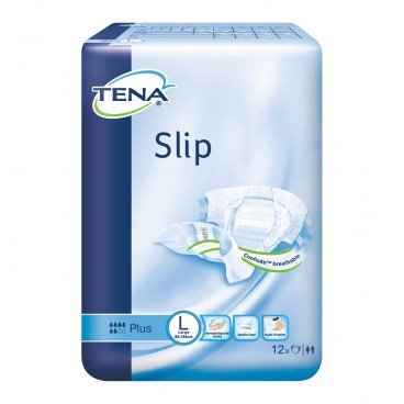 TENA Slip Plus Large 12'S