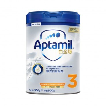APTAMIL Platinum Growing Up Formula 3 900G