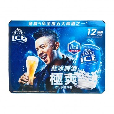 BLUE ICE Beer 330MLX12