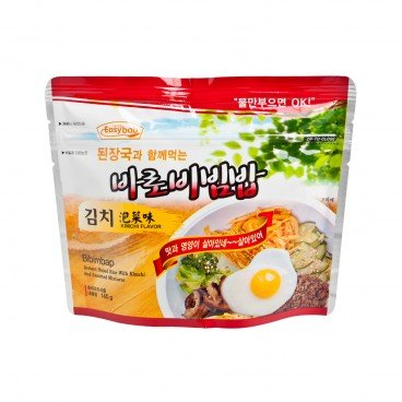 EASYBAB - Instant Rice Kimchi Flavor with Korean Bean paste Soup - 140G