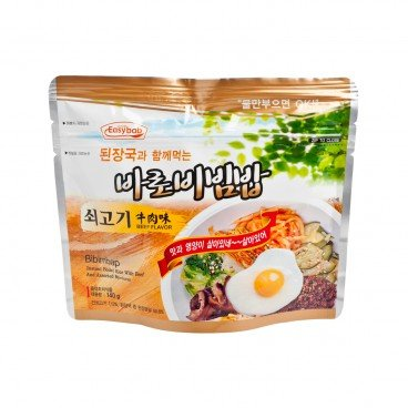 EASYBAB - Instant Rice Beef Flavor with Korean Bean paste Soup - 140G