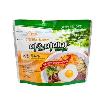EASYBAB - Instant Rice Mushroom Flavor with Korean Bean paste Soup - 140G