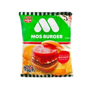 NIKUMUCHO MOS BURGER SERIES POTATO CHIPS-MOS BURGER FLAVOR