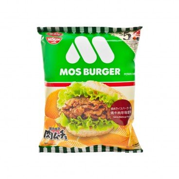 NIKUMUCHO MOS BURGER SERIES POTATO CHIPS-YAKINIKU RICE BURGER FLAVOUR